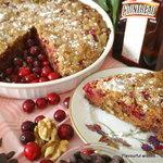 Chocolate CRANBERRY Cointreau torte cake