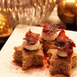 OMG a Recipe: Let Them Eat Spice Cake (with Bacon and Goat Cheese)