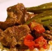BAMYA (MEAT WITH OKRA)