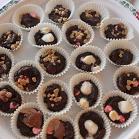 Assorted Candy Cup Cookies