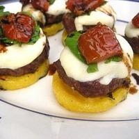 Caprese Polenta Burgers & a Great Giveaway!
