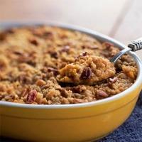 Sweet Potato Bourbon Casserole Recipe
