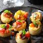 Savory French Toast Bites with Bacon, Tomato & Cheese Recipe