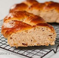 Braided Raisin Walnut Bread (Tangzhong Method)