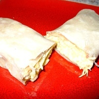 Make-Ahead Chicken Burrito