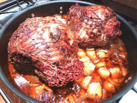 Leg of Lamb with Moroccan Seasonings