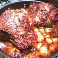 Leg of Lamb with Moroccan Seasonings