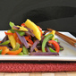 Potatoes Stir-Fry with Mango and Bell Peppers