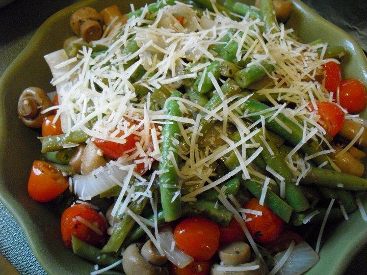 Crunchy Green Bean Salad