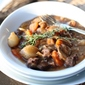 Julia Child's Boeuf Bourguignon and a Happy New Year