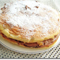 Meringue Cake With Nutella Buttercream