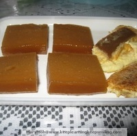 Steamed Sticky Rice Cake (Nian Gao)