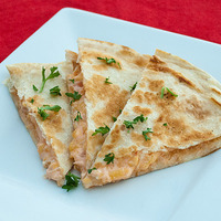Cream Cheesy Quesadillas