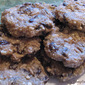 Raw Oatmeal Raisin Cookies