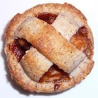 Almond-Crusted Vino Cotto (Vincotto) Apple Tart