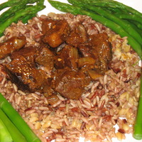 Beef with Barley and Wild Rice