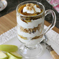 Caramelized Apple, Yogurt & Granola Parfait Recipe