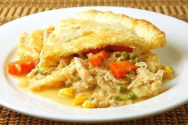 Two Crust Chicken Pie