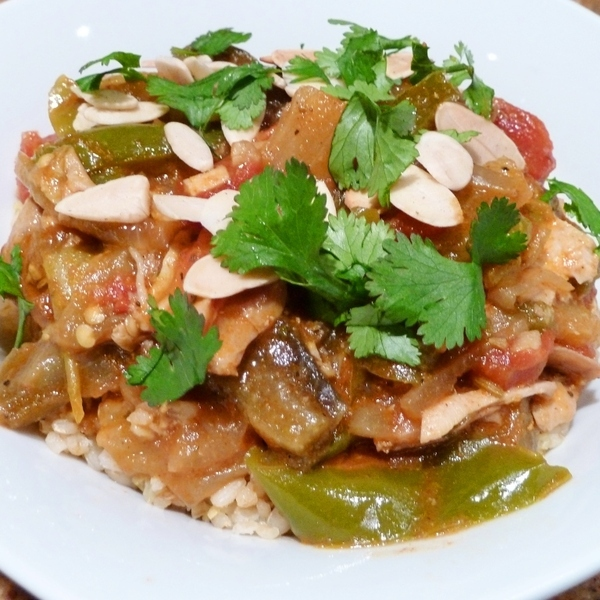 Chicken and Eggplant Tagine