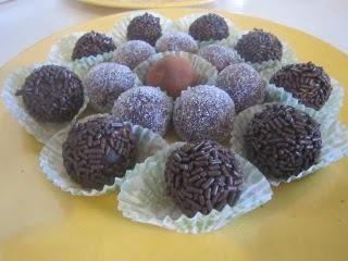 Brigadeiros - Brazilian Chocolate truffles