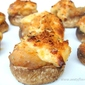Potato Stuffed Baked Mushrooms