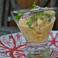 Peruvian Style Shrimp Cocktail Recipe