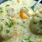 Meat and Vegetable Stew With Parsley Dumplings