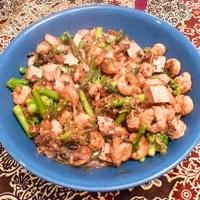 Shrimp and Tofu with Black Bean Sauce