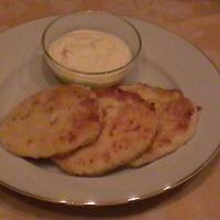 Сырники с сыром и шпинатом