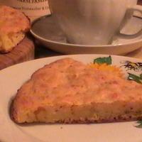 Пирог с сыром и горчицей