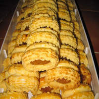 Pineapple Roll Tarts for Chinese New Year