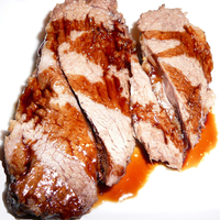 Roast Leg of Lamb with Vino Cotto (Vincotto) Sauce