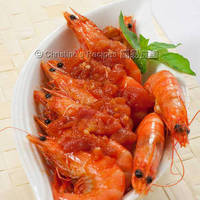 Tomato Chilli Prawns (Chinese New Year)