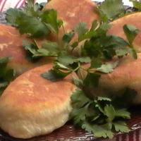 """Пирожки """"Зимние"""" с домашним паштетом и картофелем"""