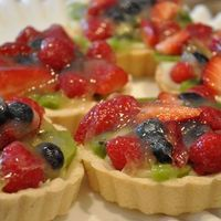 Vanilla Chip Fruit Tart