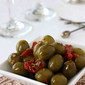 Marinated Olives with Sun-Dried Tomatoes & Fennel