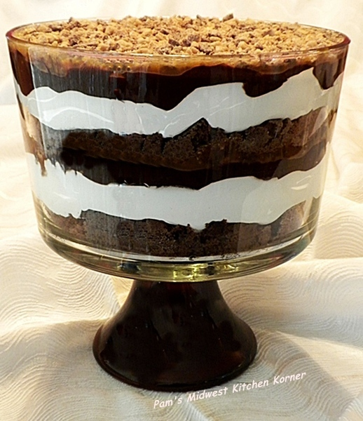Caramel Chocolate Trifle Recipe By Pam Cookeatshare