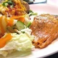 Gluten Free Recipe - Mustard and Brown Sugar Glazed Salmon