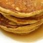 Pumpkin Spiced Egg Nog Pancakes
