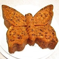 Chocolate Chip Oatmeal Butterfly Cake