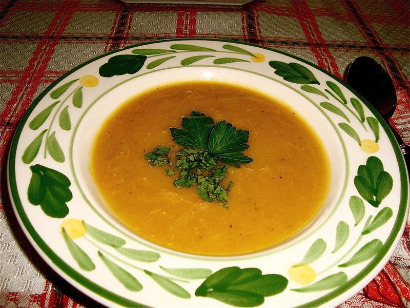Sugar Pumpkin Curry Cream Soup