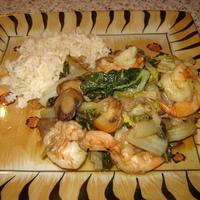 Shrimp & Bok Choy