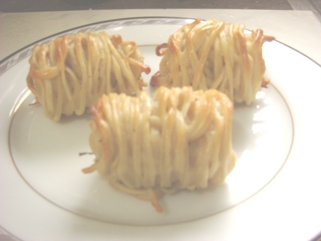 Homemade Noodles Snack