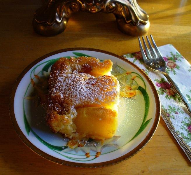Apfelkuchen (German Apple Cake) with Almond Apple Cake Variation