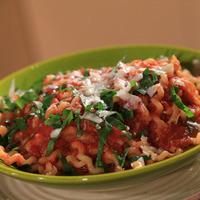 Image of Roasted Pepper And Eggplant Marinara Recipe, Cook Eat Share