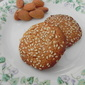 Almond Flour Cookies Using Sesame Seeds