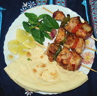 Shashlik with Arabian Touch