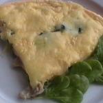 マスカルポーネチーズのオムレツ