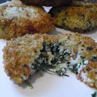Ricotta & Spinach Fritters