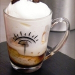 Bicchiere di Cappuccino solido per buffet di finger food